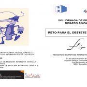 XVII Jornada de Primavera Ricardo Abizanda