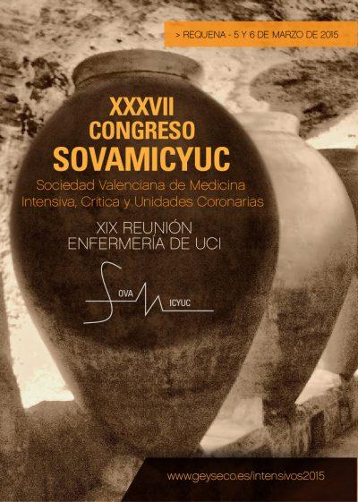 XXXVII Congreso Autonómico de la SOVAMICYUC y XIX Reunión de Enfermería de UCI Requena 2015